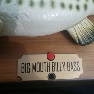 Big mouth billy bass Accents - Vintage 1999 big mouth billy bass singing fish